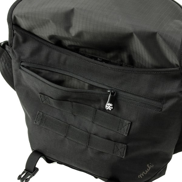 Taška přes rameno Muli Messenger M, černá