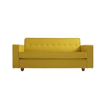 Canapea 2 locuri Custom Form Zugo, galben