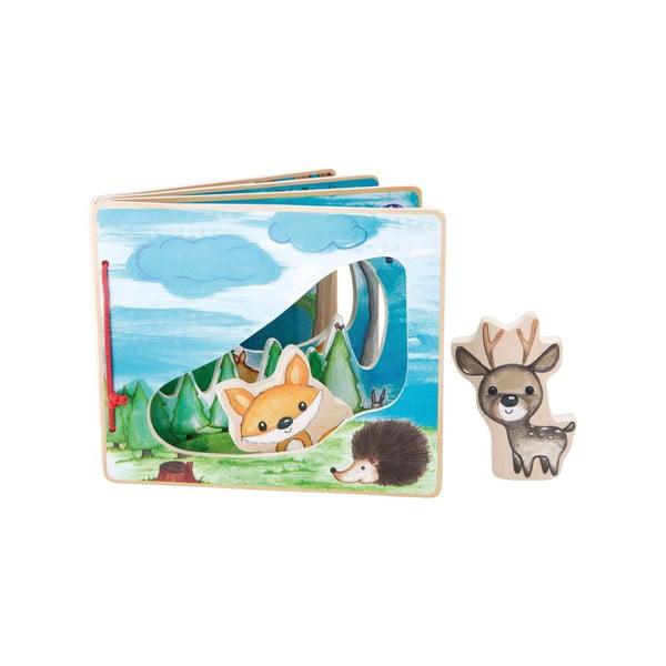 Interaktivní dětská knížka Legler Forest