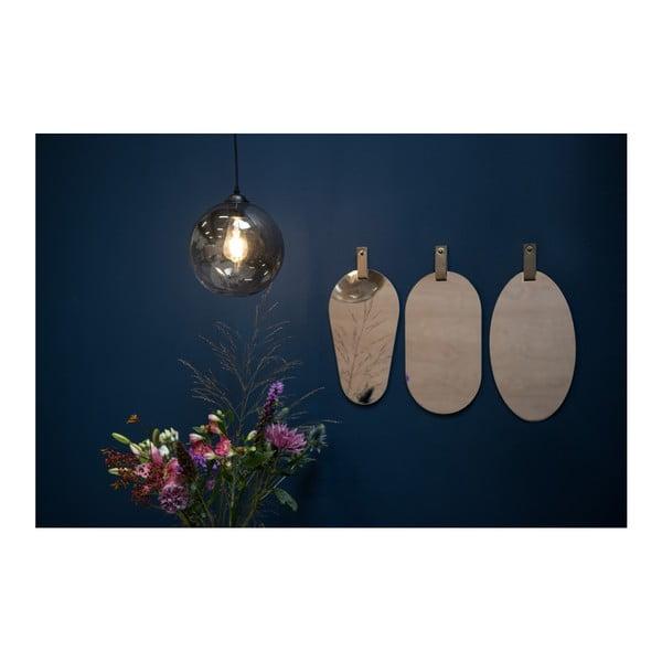 Nástěnné zrcadlo ve stříbrné barvě PT LIVING Perky