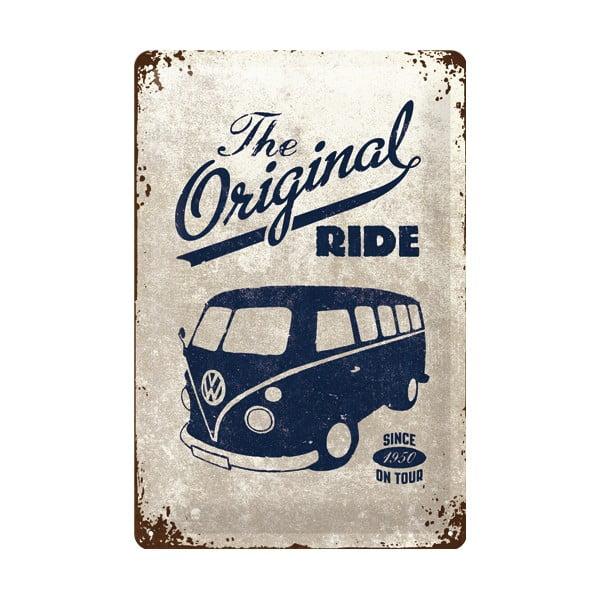 Retro plechová cedule Original Ride, 20x30 cm