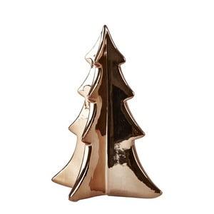 Dekorativní soška KJ Collection Tree Bronze, 17 cm