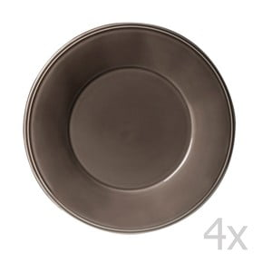 Sada 4 talířů Constrance Pepper, 28.5 cm