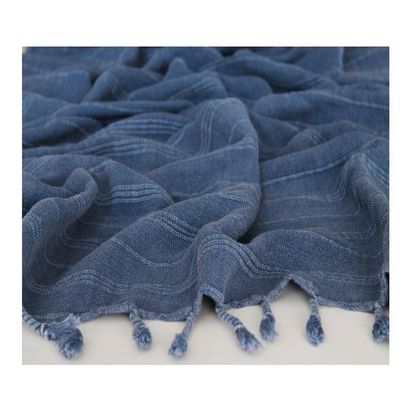 Peshtamal Stone Wash Blue, 90x175 cm