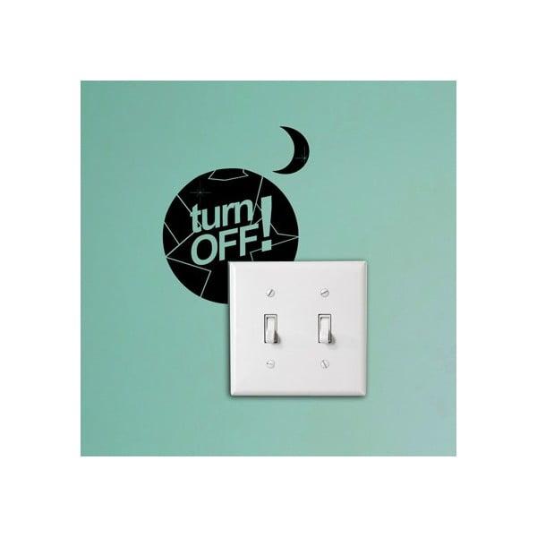 Samolepka Turn off at Night