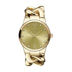 Dámské hodinky Elegante Stone Gold, 38 mm