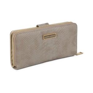 Šedá peněženka z koženky Laura Ashley Keesey