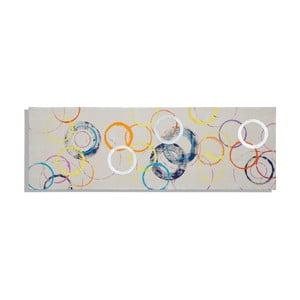 Ručně malovaný obraz Mauro Ferretti Rings, 50x150cm