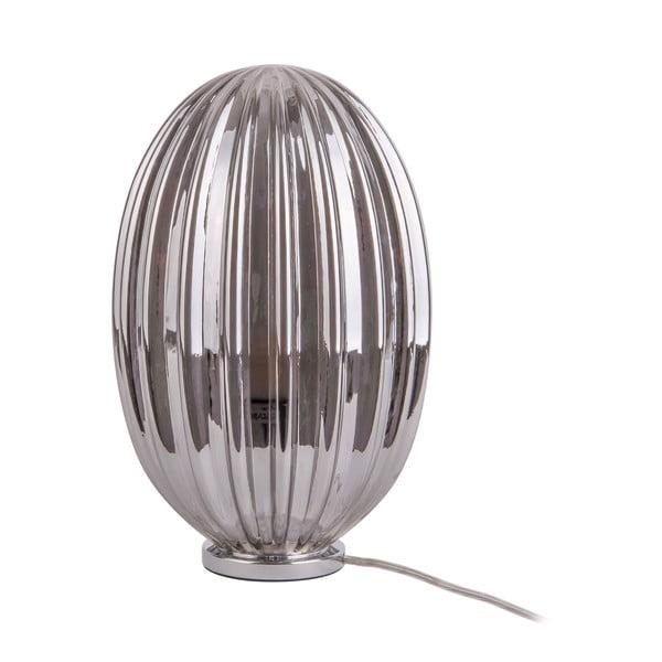Smart füstszürke asztali lámpa, magassága 31 cm - Leitmotiv