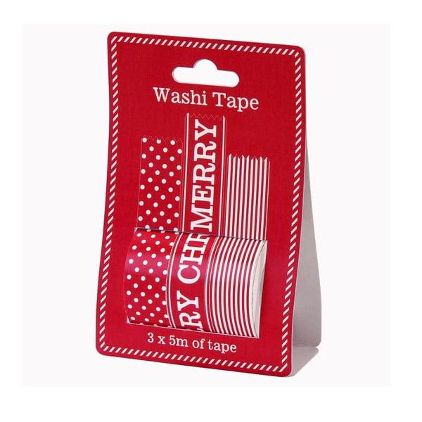 Washi páska Reels, 3 ks
