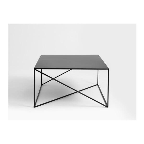 Masă de cafea Custom Form Memo, 100 x 100 cm, negru