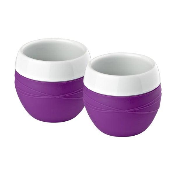 Sada 2ks hrnků Purple Zone, 0,2 l