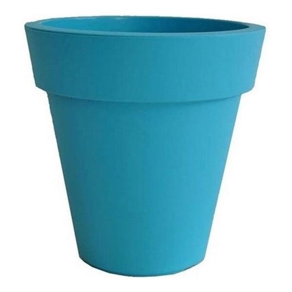 Květináč Samantha 60x60 cm, modrý