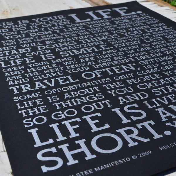 Plakát Black Manifesto, 41x30 cm