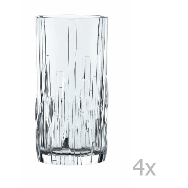 Sada 4 sklenic z křišťálového skla Nachtmann Shu Fa, 360 ml