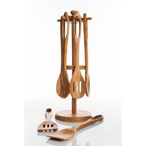 Bambusový stojan s kuchyňským náčiním Range