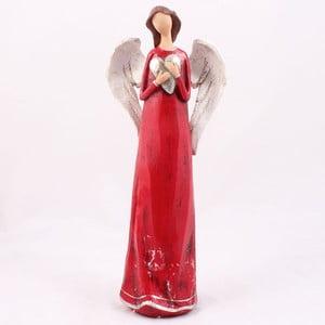 Dekorativní anděl držící srdce