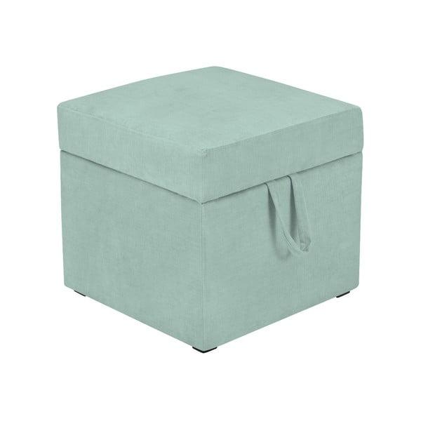 Cube mentolzöld ülőke tárolóhellyel - KICOTI