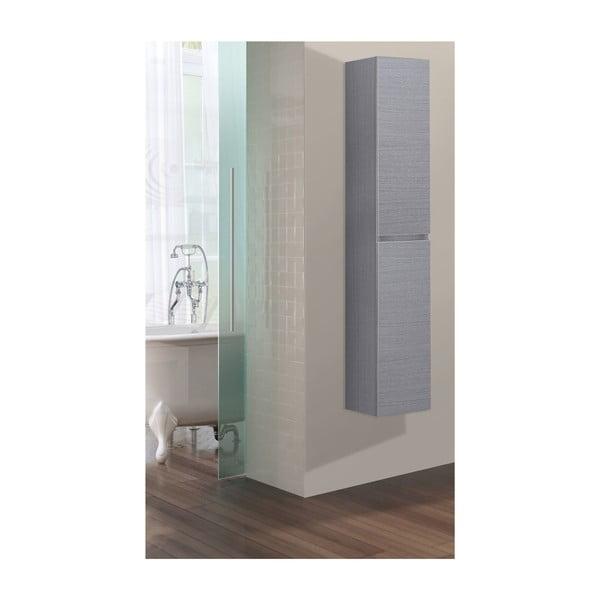 Koupelnová závěsná skříňka Column, odstín šedé