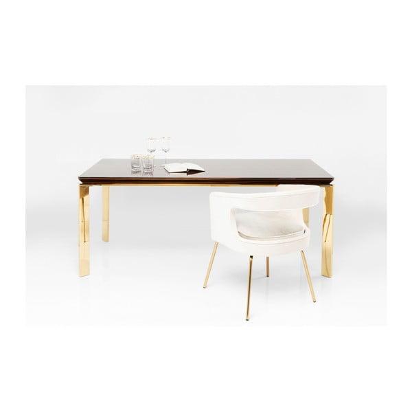 Jídelní stůl v ebenovém dekoru Kare Design Boston, 180 x 90 cm