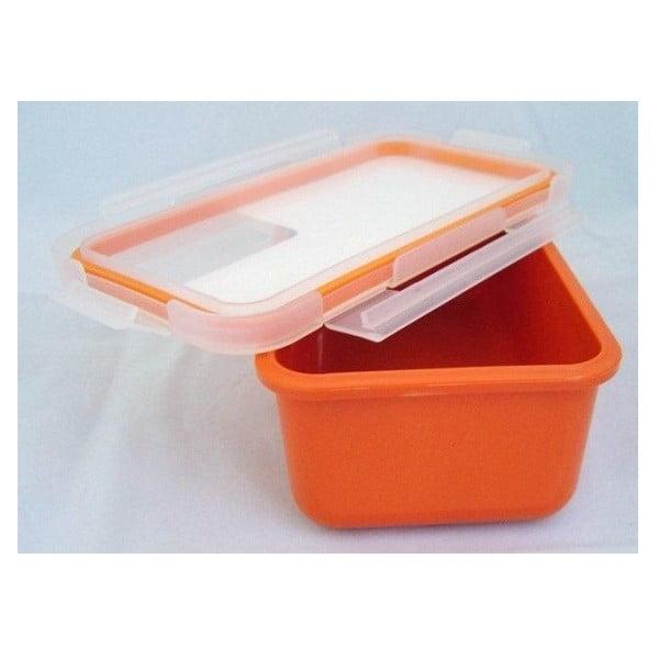 Svačinový box 0,75 l, oranžový