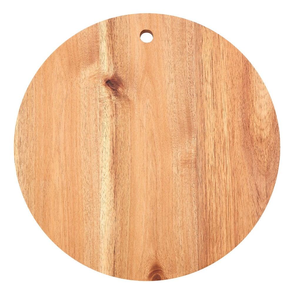 Prkénko z akáciového dřeva Premier Housewares, ⌀ 30 cm