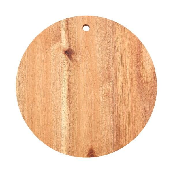 Tocător din lemn de salcâm Premier Housewares, ⌀ 30 cm