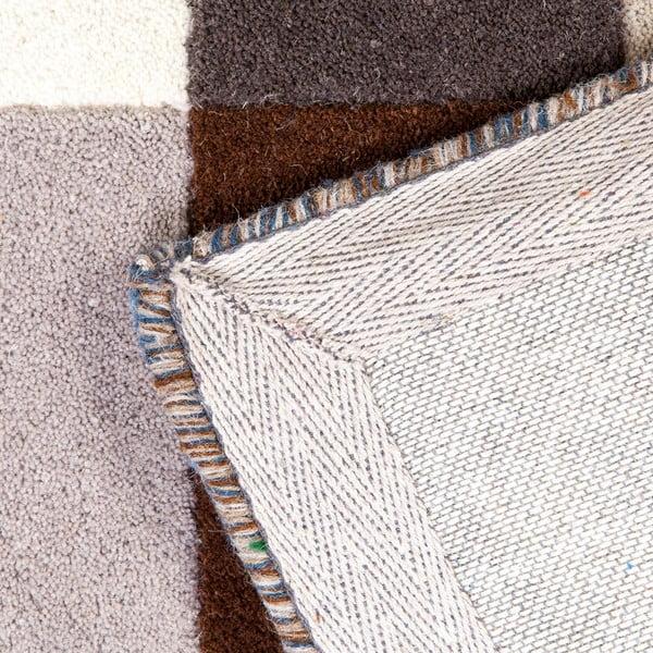 Vlněný koberec Linie Design Romina Blue, 140x200 cm