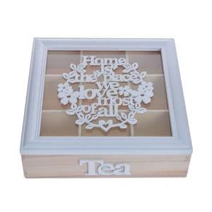 Cutie pentru ceai Ewax Flora