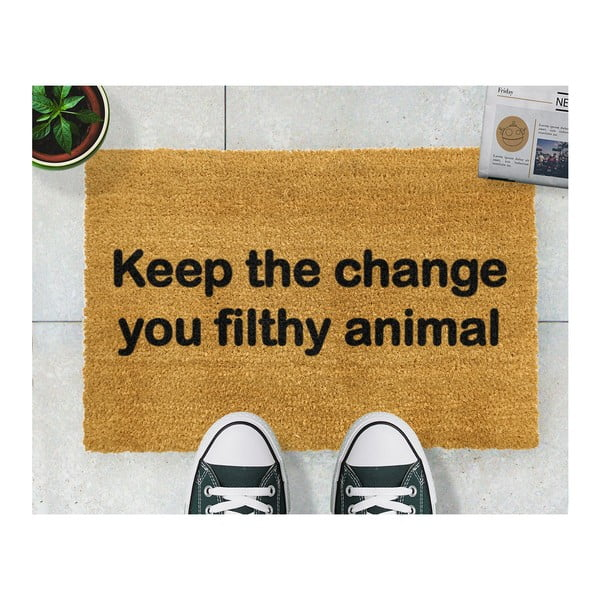 Rohožka Artsy Doormats Keep The Change, 40 x 60 cm