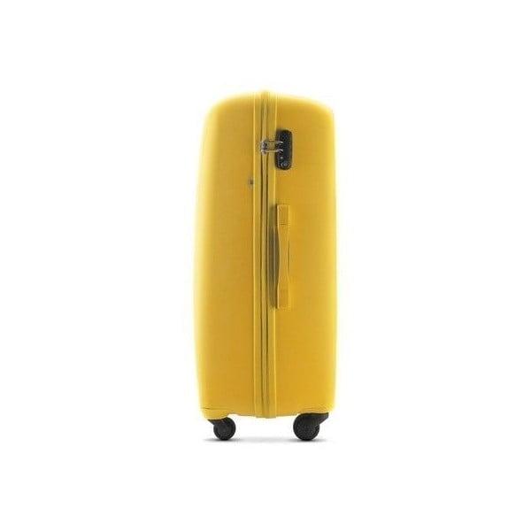 Kufr Travel PP 28', žlutý