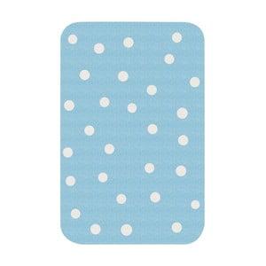 Dětský modrý koberec Zala Living Dots, 67x120cm