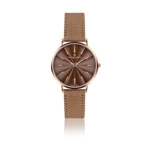 Dámské hodinky s koňakově hnědým páskem z pravé kůže Frederic Graff Rose Monte Rosa Lychee Cognac Leather