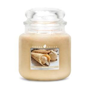 Vonná svíčka ve skleněné dóze Goose Creek Burákové sladké máslo, 0,45 kg