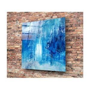 Tablou din sticlă Insigne Azul Juniya, 30 x 30 cm