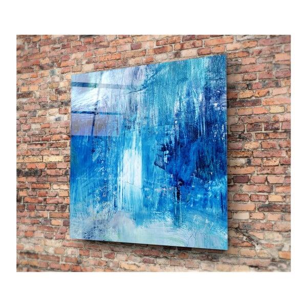 Skleněný obraz Insigne Azul Juniya, 30x30cm