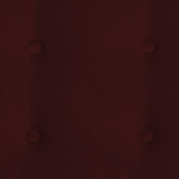 Tmavě červená dvoumístná pohovka Vivonita Blair