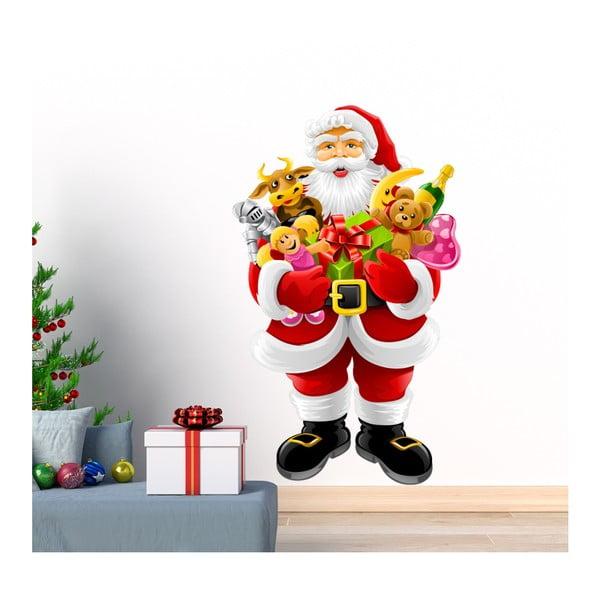 Autocolant de Crăciun Ambiance Santa Claus and Gifts