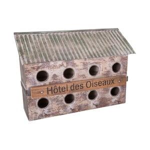 Ptačí budka pro 8 ptáčků z jedlového dřeva Antic Line Bird Hotel
