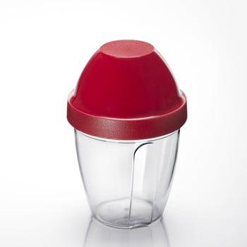 Cană pentru amestecat Westmark Mix-Ei, 250 ml, roșu poza
