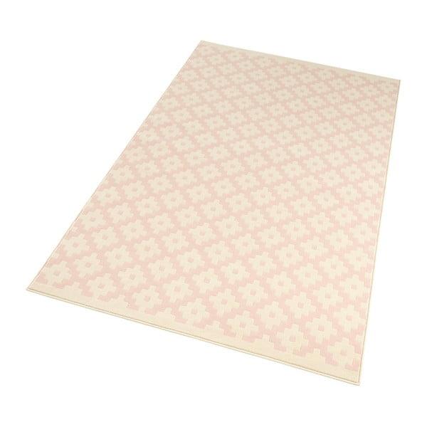 Růžový koberec Hanse Home Celebration Raggo, 80 x 150 cm