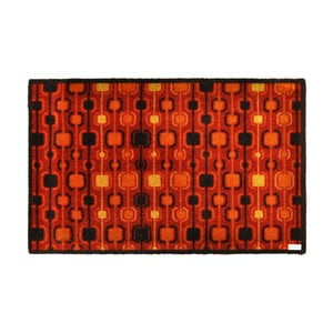 Červená rohožka Zala Living Design Funky Red Terra, 120x200 cm