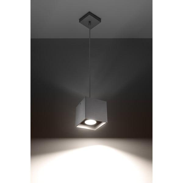 Šedé závěsné světlo Nice Lamps Geo1