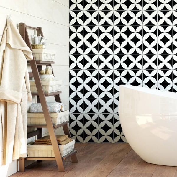 Wall Decal Cement Tiles Aniello 60 db-os falmatrica szett, 15 x 15 cm - Ambiance