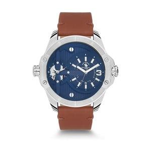 Pánské hodinky s koženým řemínkem Santa Barbara Polo & Racquet Club Himalay