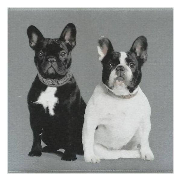Předložka French Bulldogs 75x50 cm