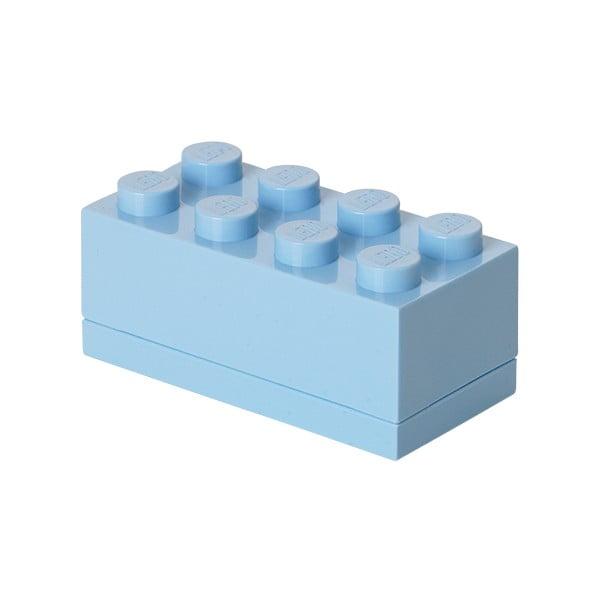 Mini Box világoskék tárolódoboz - LEGO®