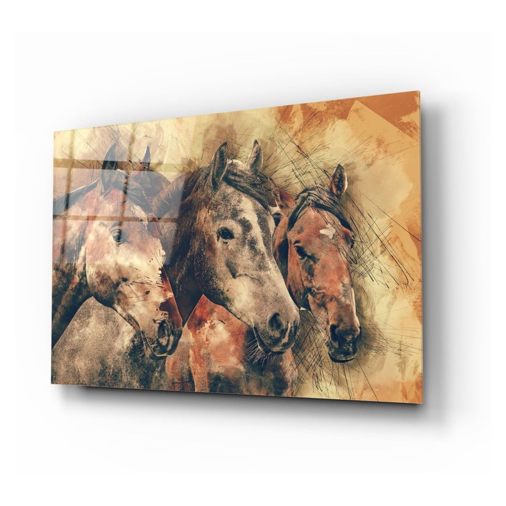 Skleněný obraz Insigne Horses