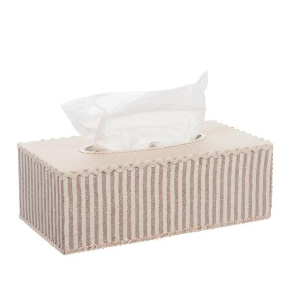 Box na papírové kapesníky Beige Print