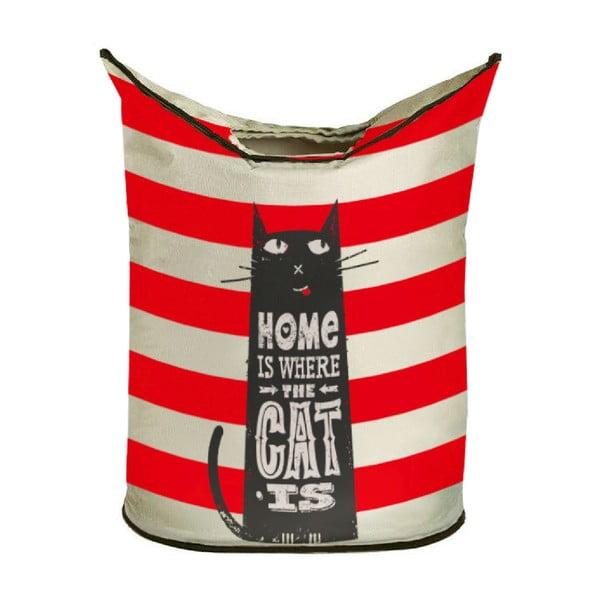Úložný koš Butter Kings Home With Cat